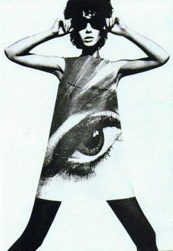 modrules:  Eye dress by Poster Dresses, 1967