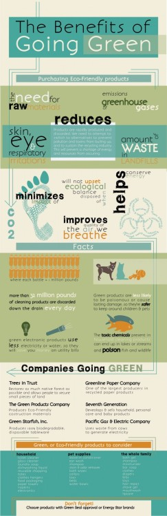 (via The Benefits of Going Green | Visual.ly)