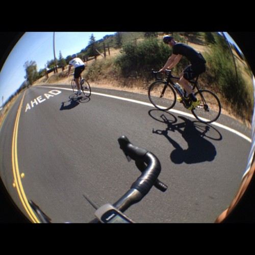 Old Julian Highway. Rolling. Photo by @greenlaker #atoc  (at Dudley's Bakery)