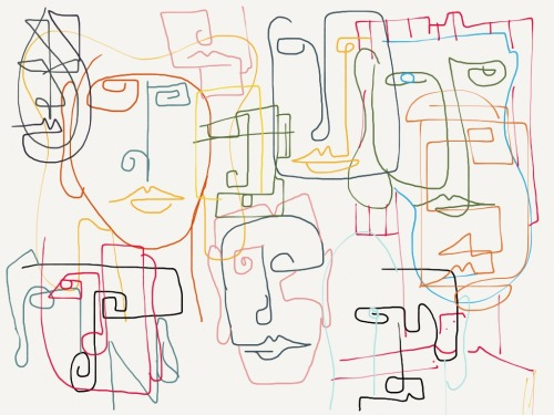 madewithpaper:  two-faced+  by ikschets