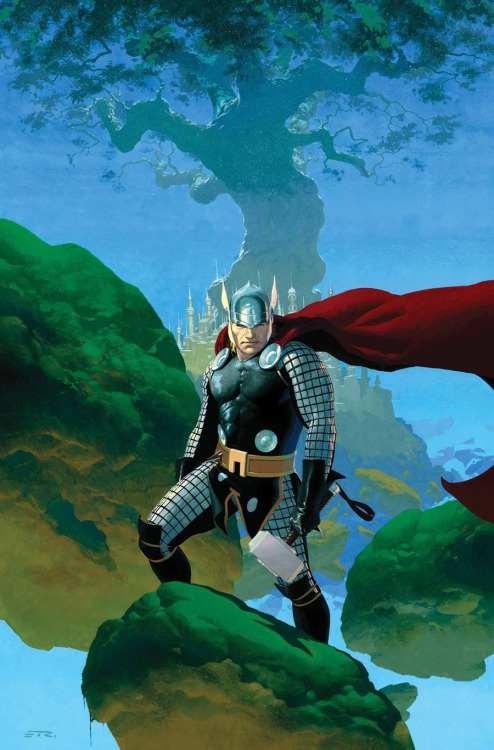 super-nerd:  Thor by Esad Ribic