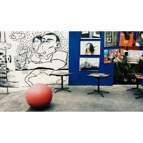 So much art indeed. (at Art District, Bacolod City)