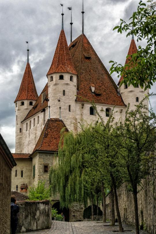 Thun Castle, Switzerland (by bervaz)