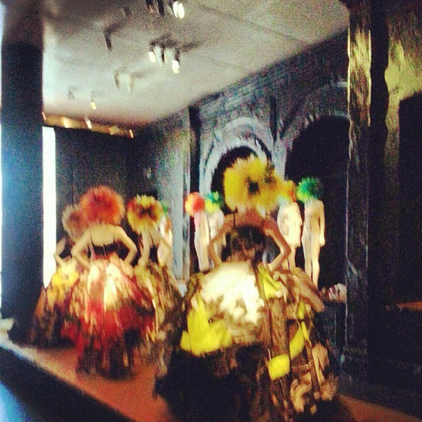 * behind the scenes #met #gala #punk #exhibition *