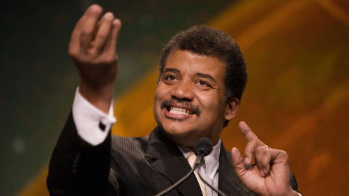 "Idea: What if the federal government gave someone like Neil DeGrasse Tyson a ""Science Laureate"" role, like we do for poets? Sound like a good idea? Fortunately, members of Congress are already working on it.  The post could be rotated among different fields so that each could get more public exposure."