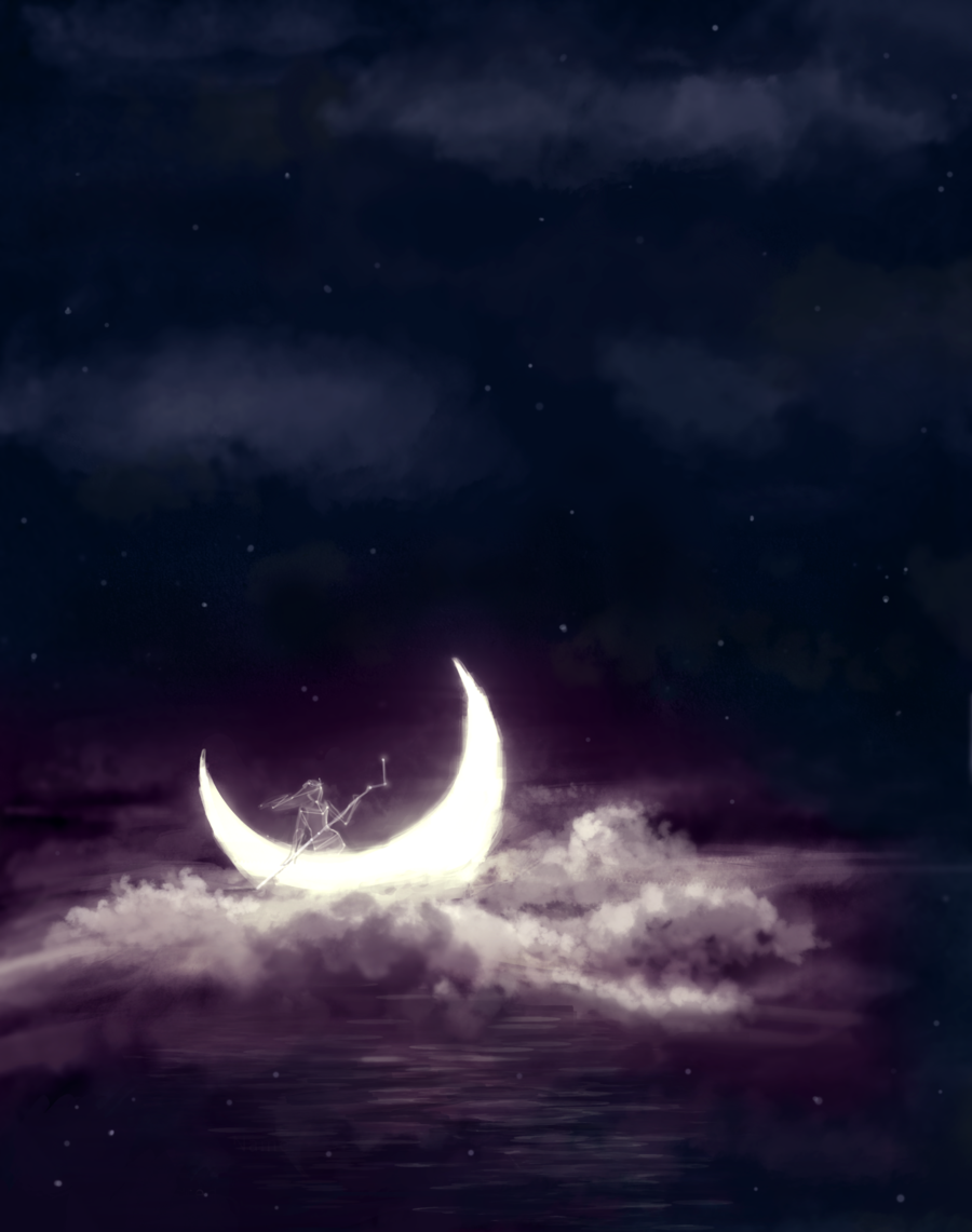 artmonia:  Song for the Sailing Moon by Sprias.