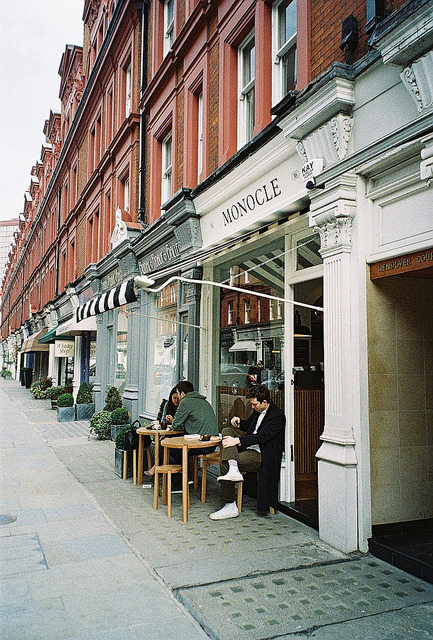 ehtes:  The Café by Mark Appleton on Flickr.