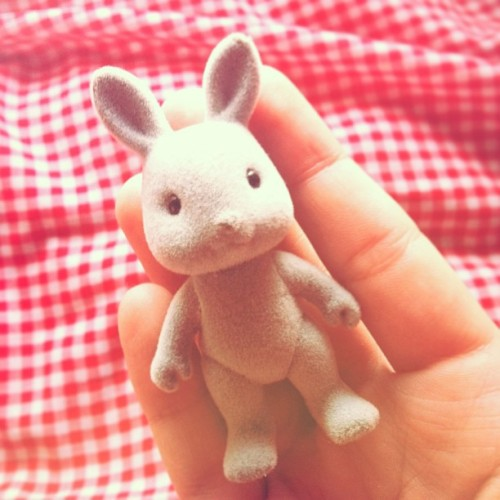 kawaii-factory:  Little bunny #sylvanianfamilies
