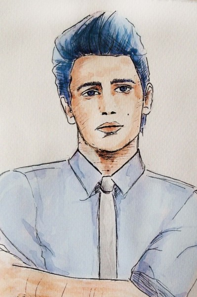 James Franco, by Jessan M