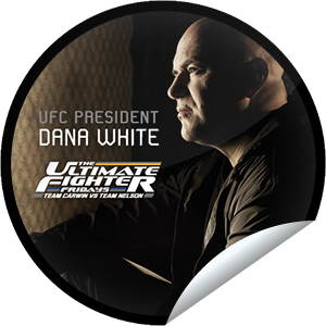 I unlocked the The Ultimate Fighter Fridays: Dana sticker on GetGlue.com                      638 others have also unlocked the The Ultimate Fighter Fridays: Dana sticker on GetGlue.com                  When the boss is talking, you better be #@$%ing listen. You've unlocked UFC President Dana White.  Share this one proudly. It's from our friends at FX.