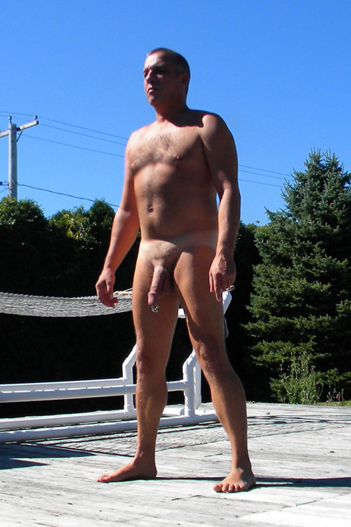 Man what a hot daddy. Cut cock with a sweet PA.