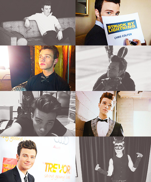 great people of 2012 → chris colfer