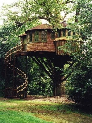 gramspiration:  beautiful treehouse