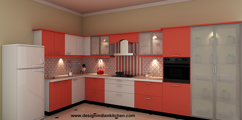 Design kitchen cabinets india diy storage chest plans Indian kitchen design picture gallery