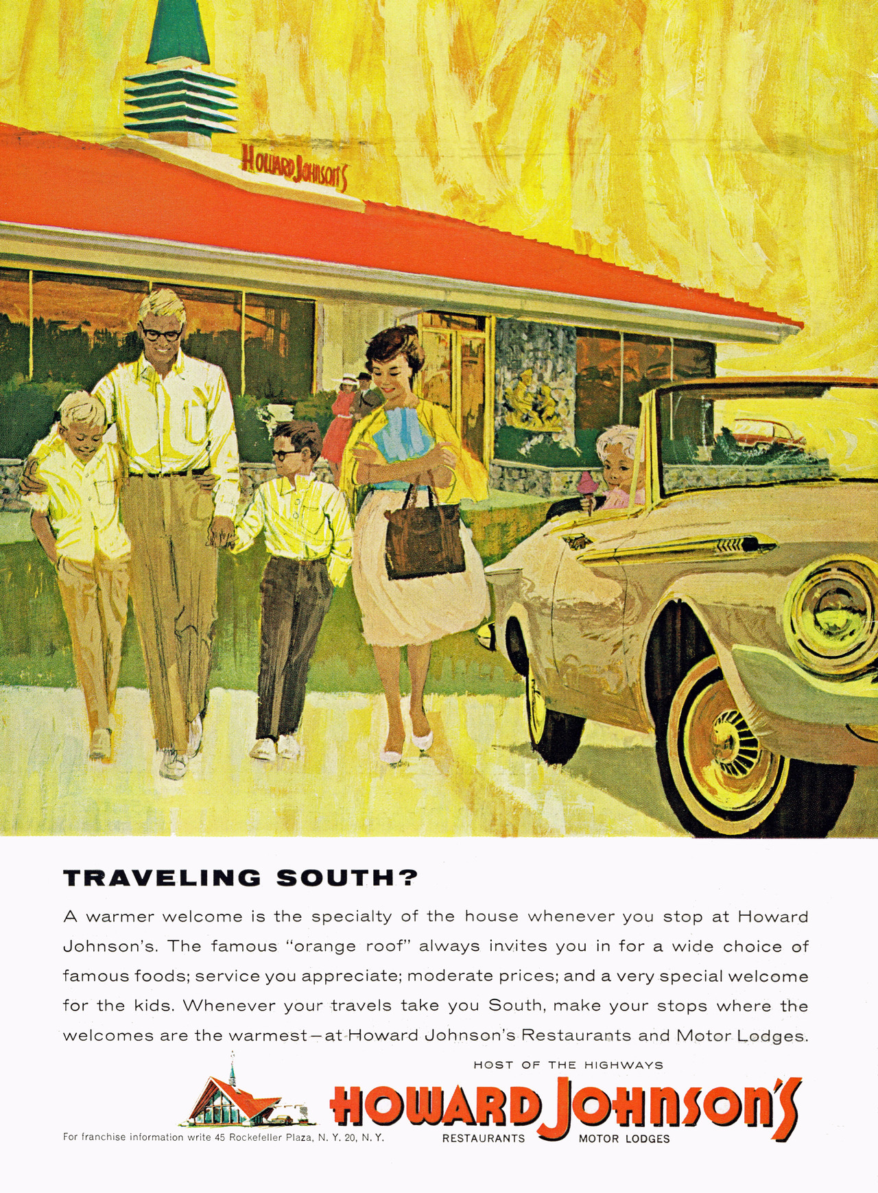 Howard Johnson's, 1964