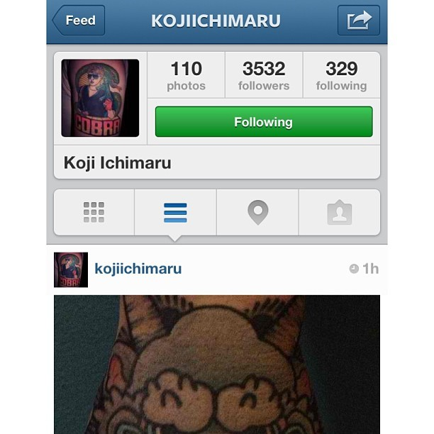 GO FOLLOW KOJI!!! This guy is great!