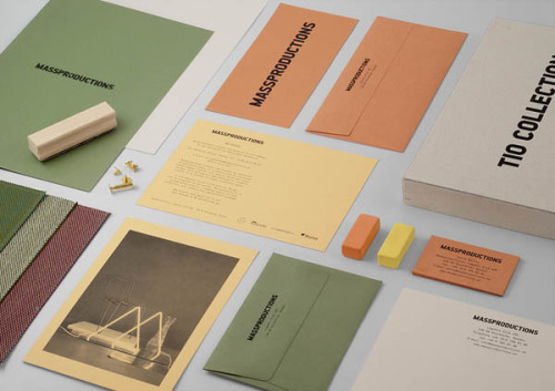 Graphic Brand Identity Stockholm, Sweden based creative branding and communication agency Britton Britton was responsible for Massproductions' visual identity and communication design. Design, Branding and Graphic Design Inspiration on WE AND THE COLORWATC//Facebook//Twitter//Google+//Pinterest