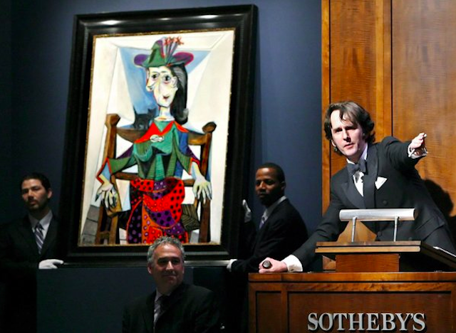 Art Market Concerns Art sales in New York, at galleries or at auction, are estimated at US$8 billion a year. Is there any reason to believe that regulating the art market will be any more effective than regulating the financial markets has been? Find out more in this New York Times report.