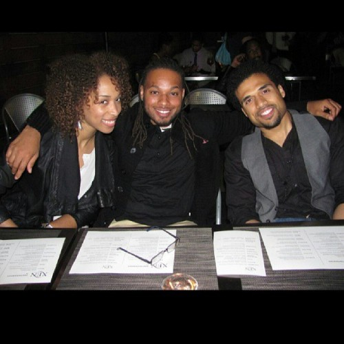 @estilechicago and @stevencaplejr and me @indieflimnight it was a great night #filmlife #midwesttakeover