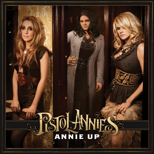 "Today's a big day for us Pistol Annies! Our new album ""Annie Up"" is out!! Download it on iTunes, AND we're playing Letterman tonight! Also, my album ""Like A Rose"" is only $6.99 on iTunes! Get it here."