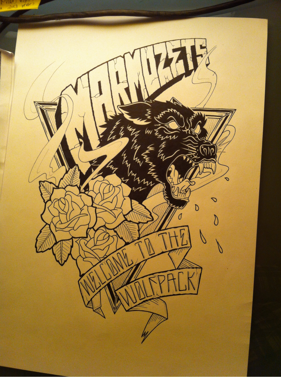 Marmozets. It's OK. Work in progress.