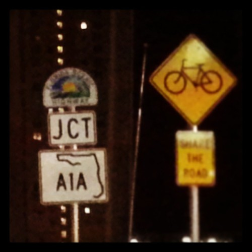 A1A (Beachfront Avenue). .. vanilla ice ice baby…