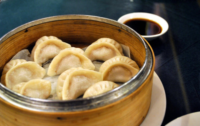 Pork Soup Dumplings @ Old Sichuan, Chinatown NYC by Plantains & Kimchi on Flickr.