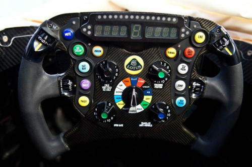 Lotus F1 E21 steering wheel