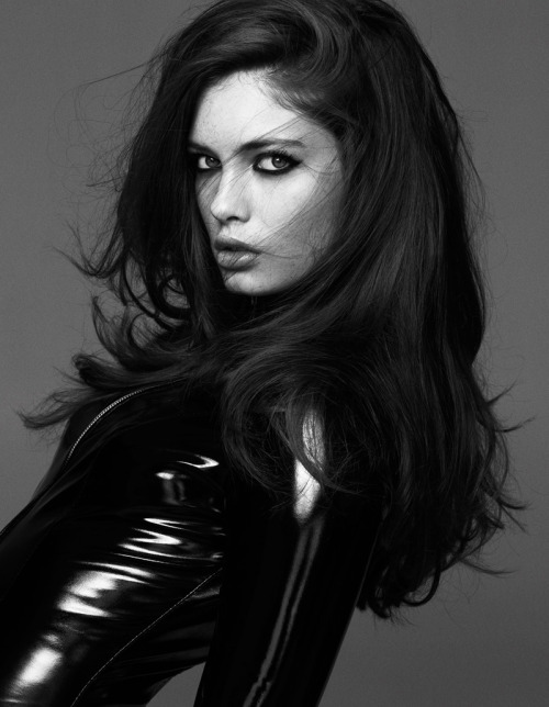 Sandrah Hellberg - Added to Beauty Eternal - A collection of the most beautiful women. thebeautymodel:  Sandrah Hellberg by Martin Petersson for Cafe Magazine May 2013.