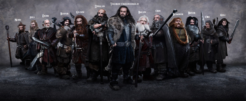 talisonpulido:  The reason I've liked Dwarves since reading the Hobbit long ago.