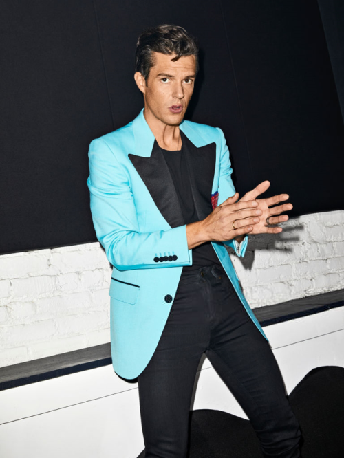 The Killers Brandon Flowers Wonderful Wonderful Billboard Suit Jacket Gucci Yves Saint Laurent Tour Music Bands Singers Clothes Fashion Photoshoot TK BF WW