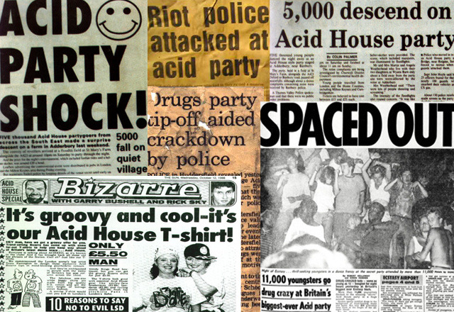 "Remembering Margaret Thatcher's War on Acid House First she came for the milk. Then she came for the mines. Then she ran out of things to come for, so she went after the soccer fans and acid house. It might sound unlikely in an age where there are a pair of TV screens showing Sky Sports in every pub in the UK, but if you wanted to go toe-to-toe with the establishment at the tail end of the Thatcher years, the fast track to getting a beat down from the police was to watch soccer or listen to a series of repetitive records with the intention of dancing. If you were looking for a measure of how the country has adjusted since Thatcher's reign, you could do worse than consider how two constants of the modern mainstream—soccer and electronic music—were once painted as folk devils by a regime fast running out of new things to point its police horses at. Granted, soccer fans had been under few illusions about where they stood in the perceived scheme of things since the 70s, and anyone with industrial or union connections would have been aware of Tory policy well before Thatcher came to power in '79. But for young people, the harshness of the establishment's war on the twin evils of soccer and dance music came as something of a surprise. Photo by Gavin Watson It wasn't till I fled a party in Dalston in 1989 that I felt it firsthand. The motivation for my hasty departure was the sudden entrance of a group of cops based at Stoke Newington Police Station who were notorious in the area for their thuggery. They'd come in, take the numbers off their uniforms, and break things up about as violently as they could without firearms, swinging at male and female ravers alike. Say what you like about violence—and this is what the state often forgets when it chooses to apply it—but it sure focuses the mind. If you were looking for a way to galvanise some of the last non-pissed off people in the country (white, middle-class men on euphoric drugs, in my case) then sending the Territorial Support Group onto the dance floor was an efficient way to go about it. However, until the boys in blue actually turned up to do the truncheon dance, you'd be hard-pressed to find many ravers in attendance who genuinely cared about the government's policies towards dance music (there's little time to talk about politics when there's sweating and jerking to get done). The photographer Gavin Watson—whose book Raving '89 documented acid-house raves in the late 80s and early 90s—agreed, telling me, ""Politics became superfluous during rave. All of the bullshit that Thatcher was coming out with started to fall on deaf ears, because we were so wrapped up in the culture that we just didn't have time to care about politics."" Continue"