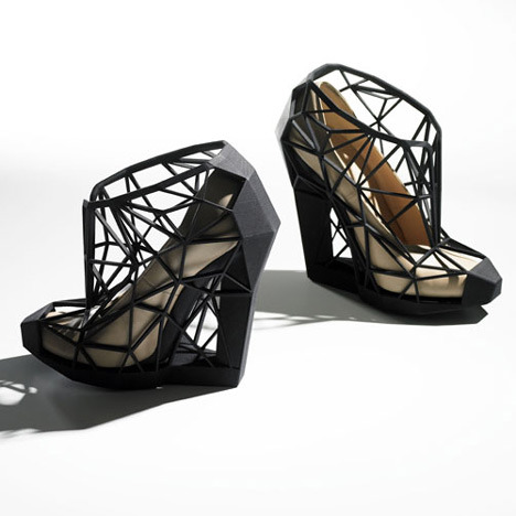 kanicopekuu:  geometric shoes