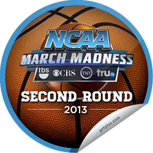 I just unlocked the 2013 NCAA Second Round sticker on GetGlue                      4547 others have also unlocked the 2013 NCAA Second Round sticker on GetGlue.com                  Congratulations, you've checked in before the shot clock expired! You earned the 2013 NCAA Second Round sticker. Keep up with all the madness on GetGlue! Share this one proudly. It's from our friends at Turner Sports & CBS Sports.