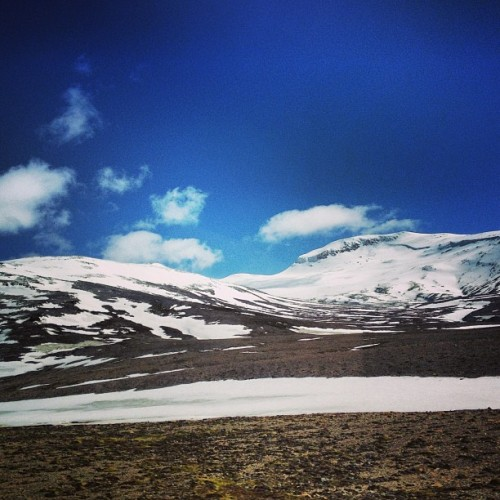 #mountains #snow #iceland