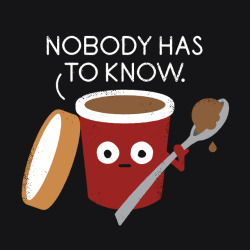 "eatsleepdraw:  ""Cold Comfort"" by David Olenick. Tees & more at threadless.com. Prints & more at society6.com. Follow my Tumblr blog at davidolenick.com."