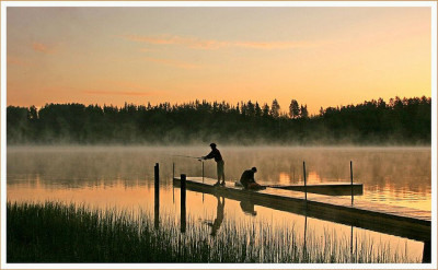 Morning's fishing by marika_te on Flickr.