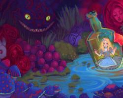 purpleairbubbles:  Alice in Wonderland