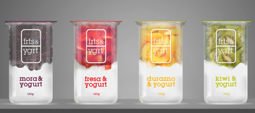 "Packaging design for ""frts & ygrt"" by Mika Kañive (Source: paperram)"