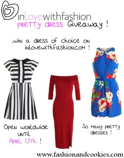 fashionandcookiesdotcom:  Check out this amazing Giveaway, CLICK HERE to enter !!!