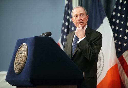 "Michael Bloomberg's Best Pickup Lines Perhaps the biggest reveal in this week's New York magazine cover story on mayoral prospect Christine Quinn is that current mayor Michael Bloomberg is something of an old-timey misogynist cad. While at an event, the reporter's friend happened to thank Bloomberg for his position on gun control and, rather than acknowledge the comment, pointed out a nearby woman and said, ""Look at the ass on her."" One imagines that his conversations are often peppered with words like ""broad"" and ""dame."" We here at GQ, always looking for ways instruct the male animal, hit up our underground sources to compile a list of the top ten best pickup lines by mayor Michael Bloomberg. Careful though gents, wielding such potent lines requires a certain level of responsibility."