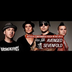 theofficiala7x:  We're excited to announce we'll be performing @Rockinrio 2013 on September 22nd with @IronMaiden