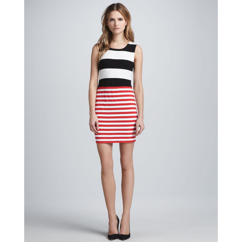 Women's Bailey 44 Delta Time Striped Tank Dress   ❤ liked on Polyvore (see more bailey 44s)