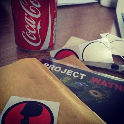 Sending out copy's of Project Wayne Today so for those that sent your address LOOK OUT!! Next batch coming soon #DJs #projectWayne #thedjlife