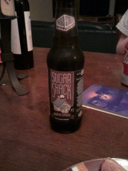Third Street Brewhouse Sugar Shack Maple Stout @ home in Sioux Falls, SD