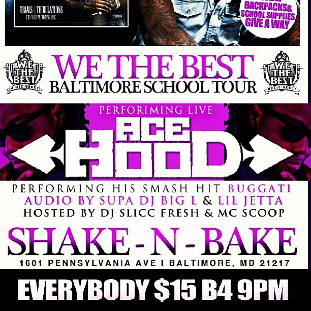 #SaveTheDate #March16  - #AceHood is coming to the #DMV !  !  !    I will be rocking the #MIC (at WEAA 88.9 FM)