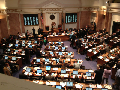 "Kentucky House continues debate as 2013 General Assembly enters final days.  Retirement security remains at risk for state firefighters, public health workers and educational staff, other workers. Call in and leave a message: 1-800-372-7181. Say ""No"" to any last minute pension deals. Keep the Promise to Kentucky workers."