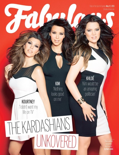 Kourtney, Kim and Khloe for the latest issue of Fabulous Magazine.Read the article here…