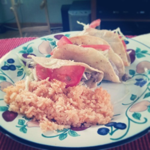 Homemade tacos! :D