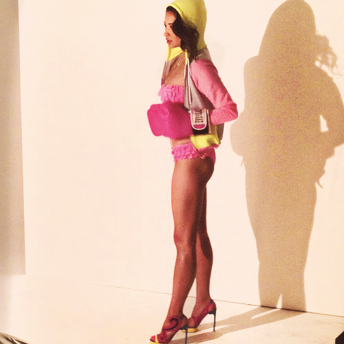 Behind the Scenes of Shay Mitchell's Self Magazine Photoshoot